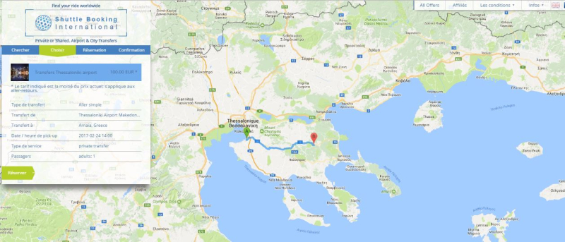 Airport transfers Greece